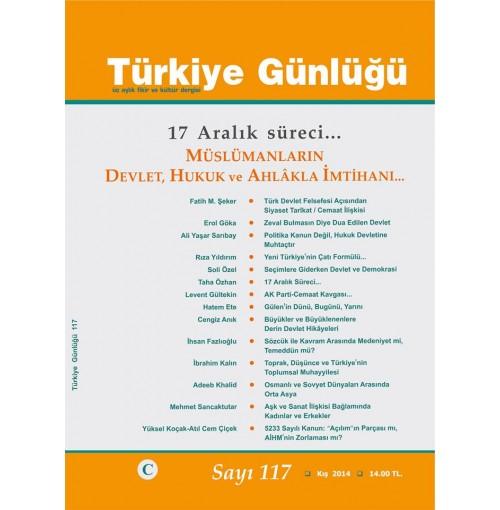Türkiye Günlüğü Sayı 117