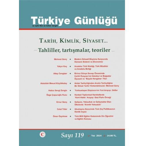 Türkiye Günlüğü Sayı 119