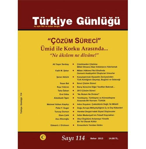 Türkiye Günlüğü 1 Yıllık Abonelik